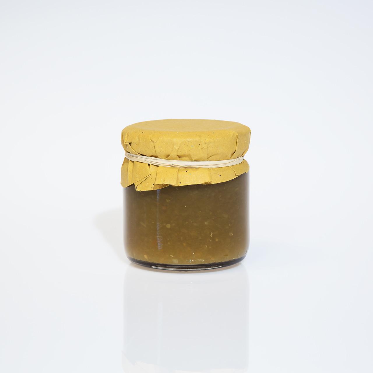 Composta di pomodori verdi - L'Orto di Vaggio