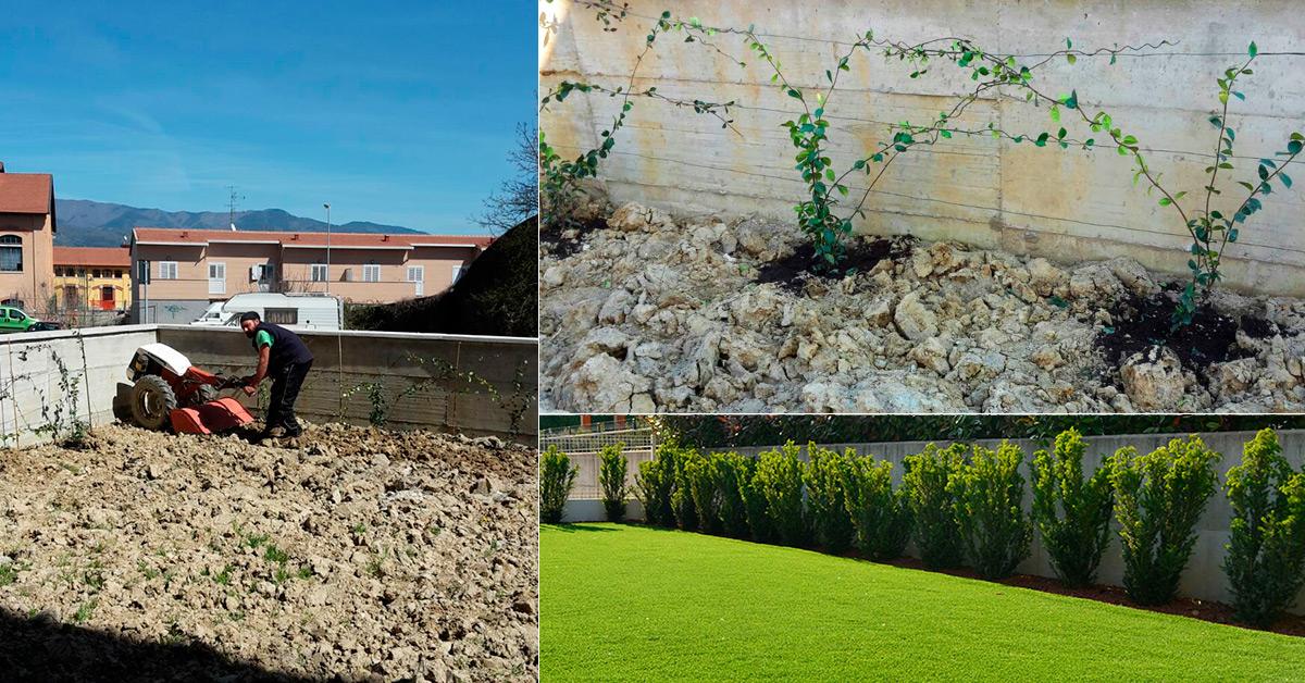 Realizzazione e manutenzione di terrazze e giardini for Terrazze e giardini